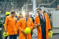 "Visit of Minister of Labor and Social Protection Maxim Topilin to ""Motordetal"""
